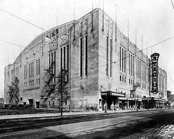 1931 Bulls & Blackhawks CHICAGO STADIUM Glossy 8x10 Photo Pr