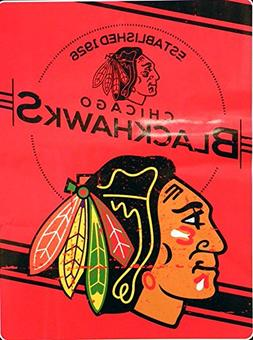 "Northwest Company - Chicago Blackhawks 60""x80"" Royal Plush R"