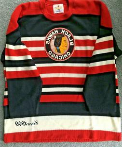 brand vintage chicago blackhawks jersey size adult