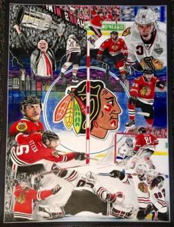 California Ave Artworks- 2015 Chicago Blackhawks Stanley Cup