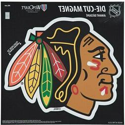 "Chicago Blackhawks 12"" x 12"" Car Magnet"