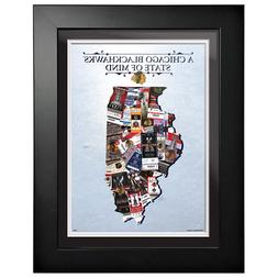 Chicago Blackhawks 12x16 State of Mind Framed Artwork