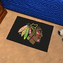 """Chicago Blackhawks - 19"""" X 30"""" Starter Area Rug Floor Mat"""