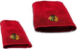 chicago blackhawks 2 pc bath and hand