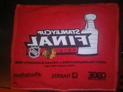 Chicago Blackhawks 2010 Stanley Cup Final Rally Towel Game 5