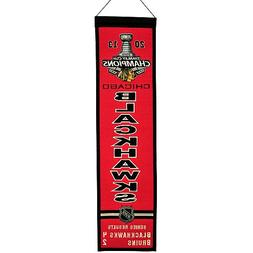 Chicago Blackhawks 2013 NHL Stanley Cup Champions Wool Herit