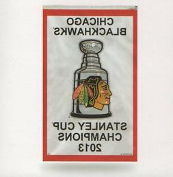 Chicago Blackhawks 2013 Stanley Cup Champions 3X5 Indoor Out