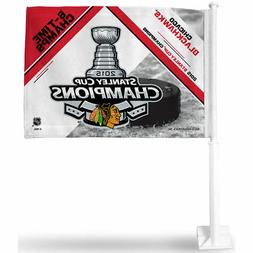 Chicago Blackhawks 2015 Stanley Cup Car Flag and Window Flag