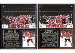 Chicago Blackhawks 2015 Stanley Cup Champions Photo Plaque 6