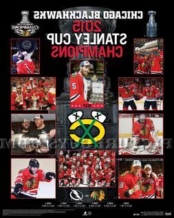 Chicago Blackhawks 2015 Stanley Cup Championship Picture Pla