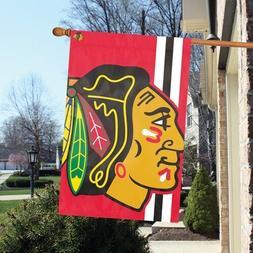 Chicago Blackhawks 24 x 36 Bold Logo Banner Flag