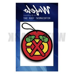 Chicago Blackhawks Wafelo Air Freshener Hanging Car and Home