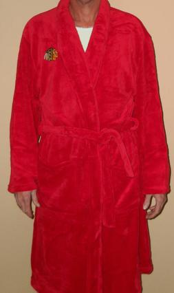 chicago blackhawks bath robe men s