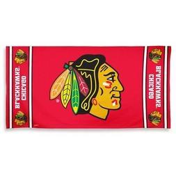 chicago blackhawks beach towel 30 x 60