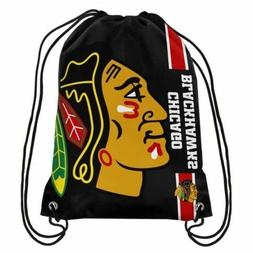 Forever Collectibles Chicago Blackhawks Big Logo Drawstring