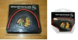 Chicago Blackhawks NHL Blade or Mallet Putter Golf Club Head
