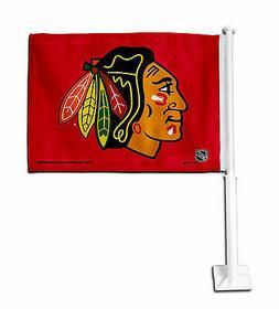 Chicago Blackhawks Car Flag NHLTeam Pride Officially License