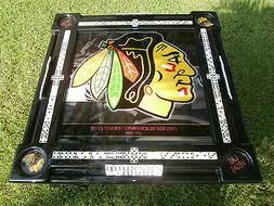 Chicago Blackhawks Domino Table & we will put your name by D