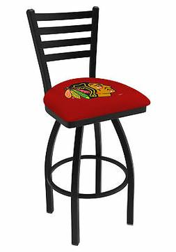 Chicago Blackhawks HBS Red Ladder Back High Top Swivel Bar S