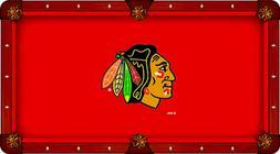 Chicago Blackhawks Holland Bar Stool Co. Red Billiard Pool T