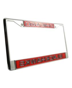 Rico Industries Chicago Blackhawks Laser License Plate Frame