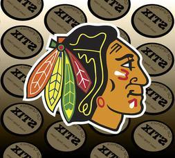 Chicago Blackhawks Logo NHL Die Cut Vinyl Sticker Car Window