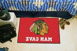 chicago blackhawks man cave 19 x30 starter