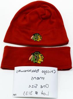 Chicago Blackhawks Mens Sample Apparel Lot Size OSFM