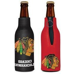 chicago blackhawks neoprene bottle holder coozie koozie