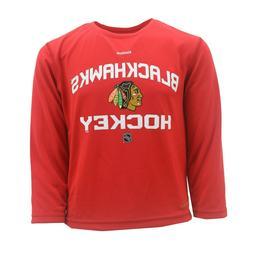 Chicago Blackhawks NHL Reebok Apparel Youth Kids Size Long S