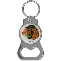 Chicago Blackhawks NHL Bottle Opener Keychain