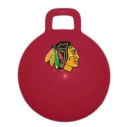 Chicago Blackhawks NHL Child Space Hopper Ball Kangaroo Boun