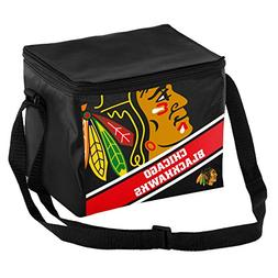 Chicago Blackhawks Official NHL Cooler 6 Pack Ice Box Lunch