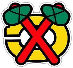 Chicago Blackhawks NHL Hockey Bumper Window Locker Notebook