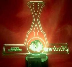 chicago blackhawks nhl hockey light up lamp