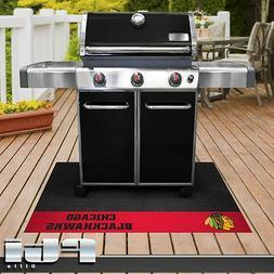 Chicago Blackhawks NHL Hockey Vinyl BBQ Patio Outdoor Grill