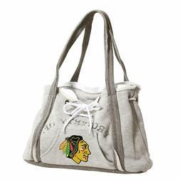 Ladies Embroidered Hoodie Purse Handbag - Chicago Blackhawks