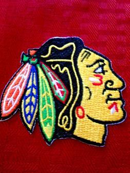 chicago blackhawks nhl logo patch united center