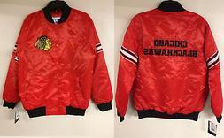 Chicago Blackhawks Starter NHL Retro Authentic Satin Jacket