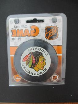 Chicago Blackhawks Official 1993-95 NHL Game Hockey Puck in