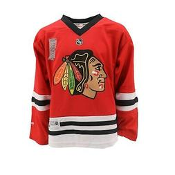 Chicago Blackhawks Official NHL Reebok Apparel Kids Youth Si