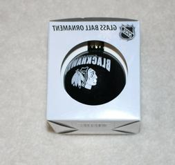 Chicago Blackhawks Official NHL Holiday Ornament Glass Ball