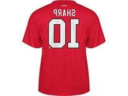 Reebok Chicago Blackhawks Patrick Sharp Tee Shirt