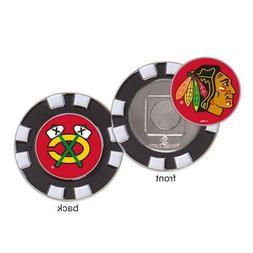 Chicago Blackhawks Poker Chip Golf Ball Marker