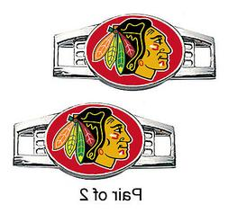 Chicago Blackhawks Shoe Charms / Paracord Charms