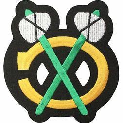 chicago blackhawks shoulder logo emblem team home