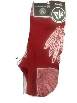 Chicago Blackhawks Socks Ankle 3 Pair Large 47 Blade Hockey