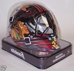 Chicago Blackhawks Franklin Sports NHL Mini Goalie Mask Helm