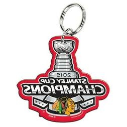 Chicago Blackhawks Stanley Cup Champions Key Ring