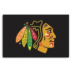 chicago blackhawks starter rug new 19 x